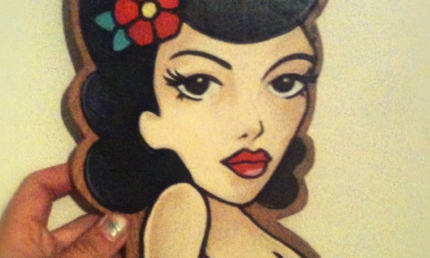 Wooden Pin Up