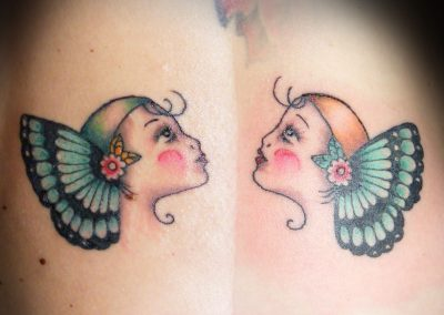 Butterfly Girls Tattoo
