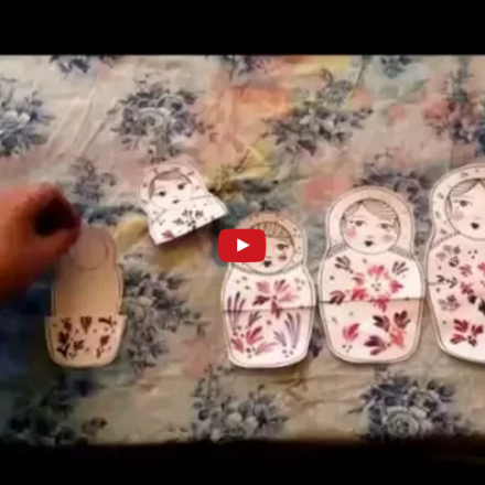 Painted Dolls – Russian Dolls Stop Motion Video