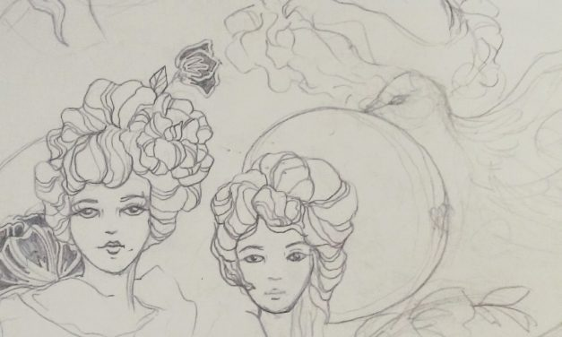 Art Nouveau Sketchbook
