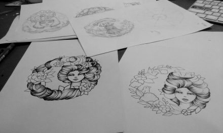 Gypsy Girl Designs for Plates