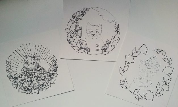 Cat Designs for Plates