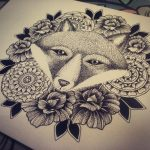 Woodland Animal Designs with Mandalas and Flowers